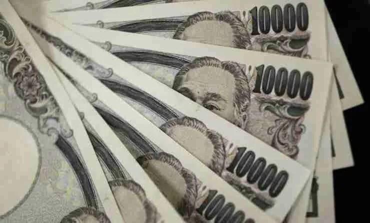 Japan starts giving cash