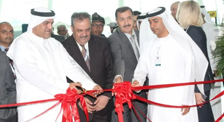 Jasem-Mohammed-Saeed-Al-Darmaki-acting-Director-General-Abu-Dhabi-Tourism-Culture-Authority-cuts-the-ceremonial-ribbon-during-the-opening-of-the-World-Halal-Travel-Summit-Exhibition-2015
