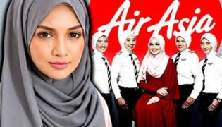 AirAsia Female Pilots Get Specially Designed Hijab as Part of Uniform