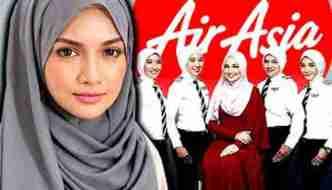 AirAsia Female Pilots Get Specially Designed Hijab as Part of Uniform