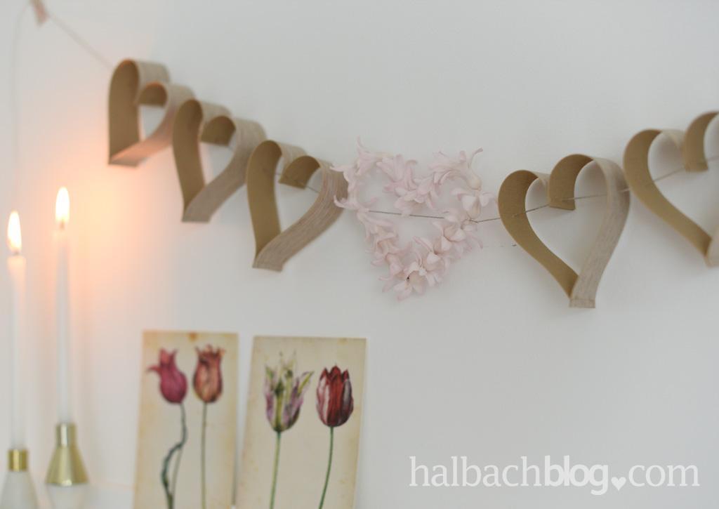 Natürlich von Herzen mit Holzfurnier-Stoff - Halbachblog
