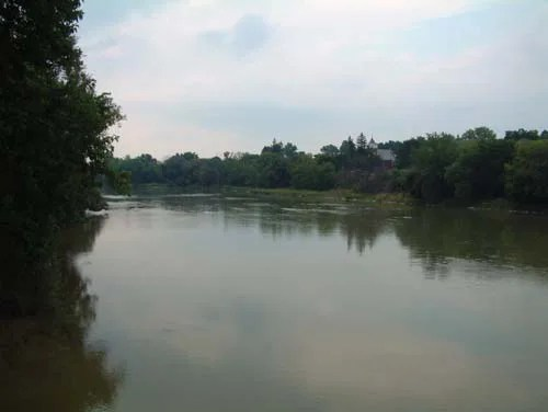 The gentle Grand River beckons to residents and tourists alike.