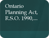 Image of thhe Ontario Palanning Act, R.S.O. 1990 document