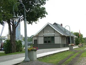 Caledonia Grand Trunk Station