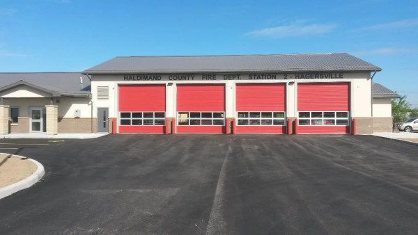 Hagersville Fire Station #2 - An image of the outside