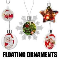 FLOATING ORNAMENTS