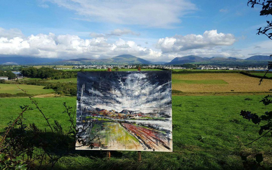 Coastal Art: 'Four on Anglesey'
