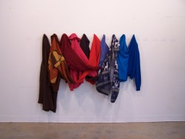 Group Sweater for ten, gallery display
