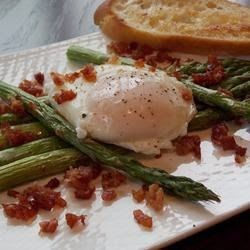 Fruits And Vegetables – Roasted Asparagus Prosciutto And Egg