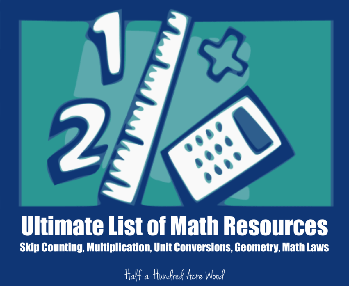 Classical Conversations Math Resources