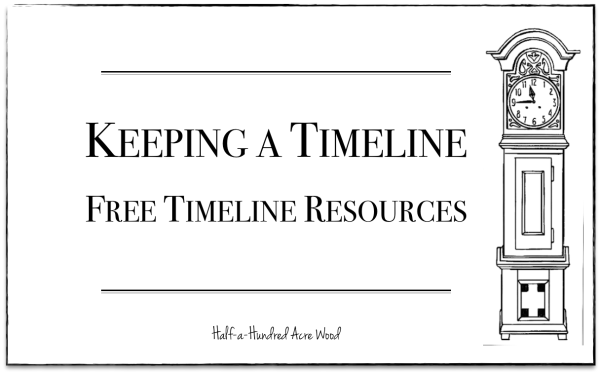 Keeping a Timeline: Timeline Resources