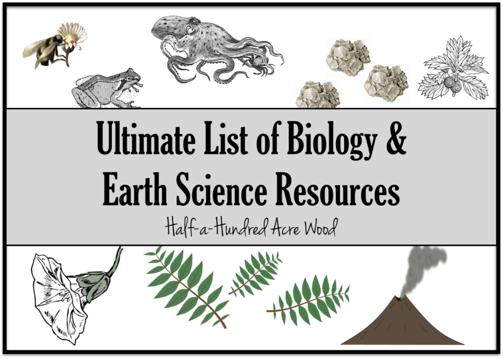 Ultimate-list-earth-science-biology