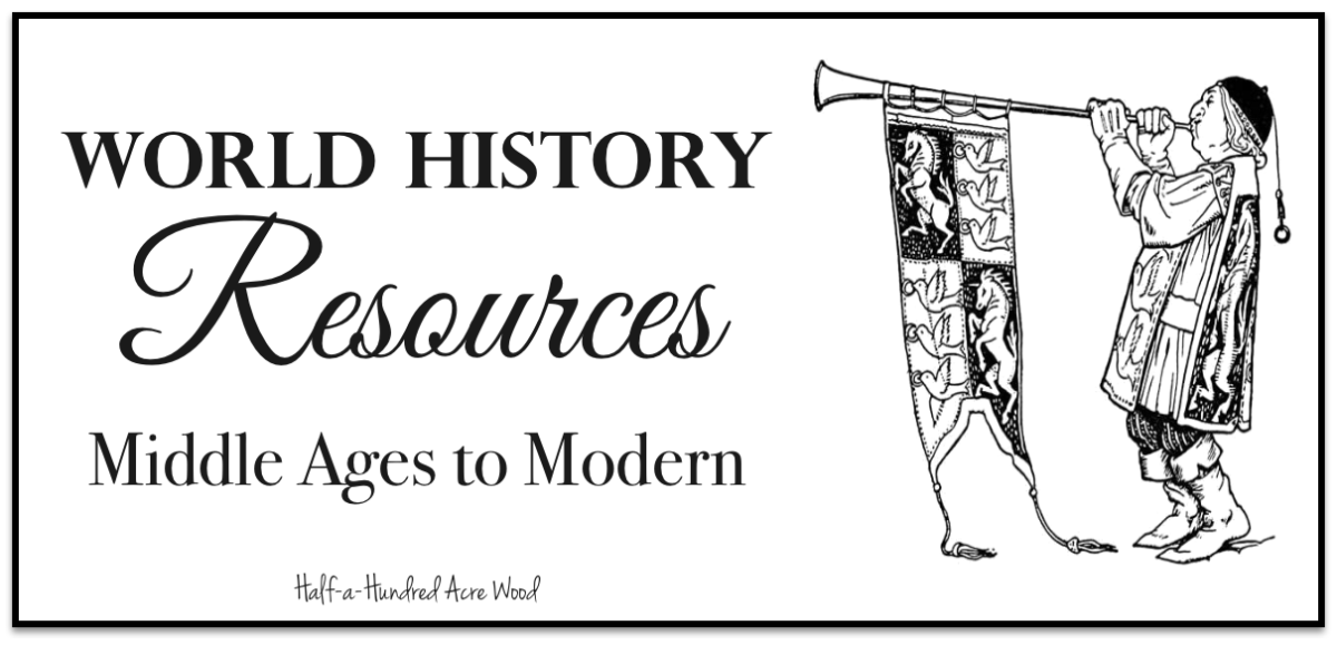 World History Resources:  800 AD to 1994