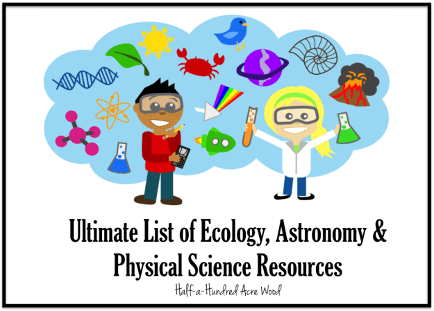 ecology astronomy physical science