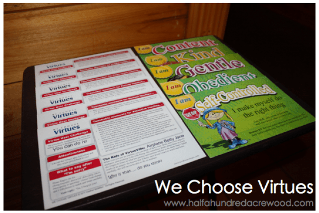 Using we choose virtues