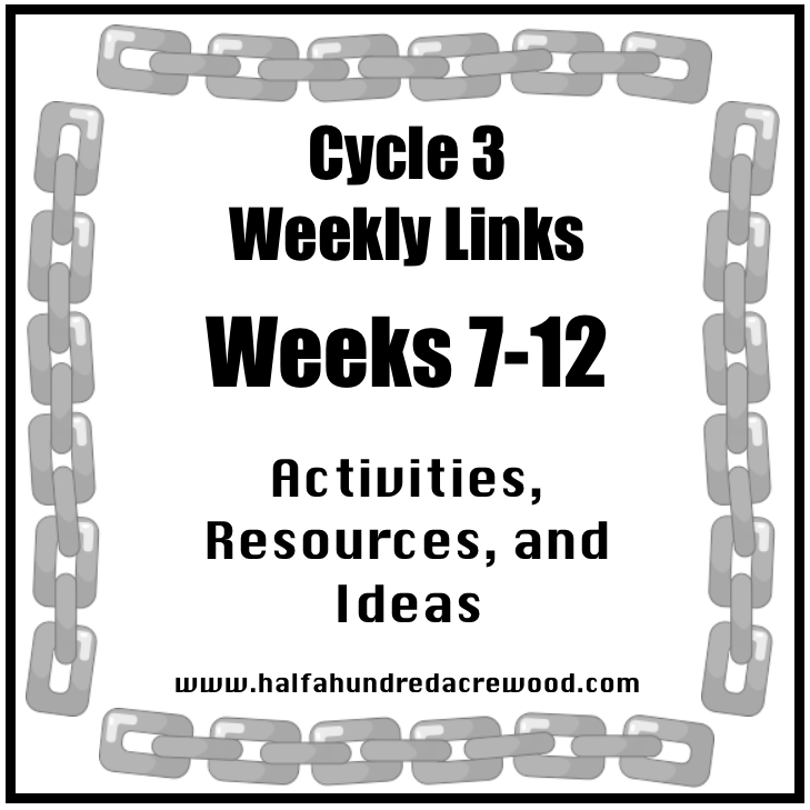 Cycle 3 Weeks 7-12 Resources