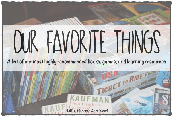 Favorite Books, Games, and Learning Resources