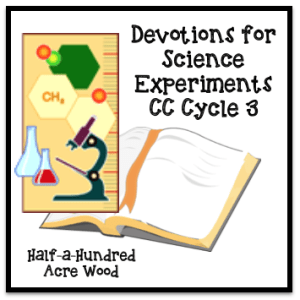 Cycle 3 Science Scripture Connections