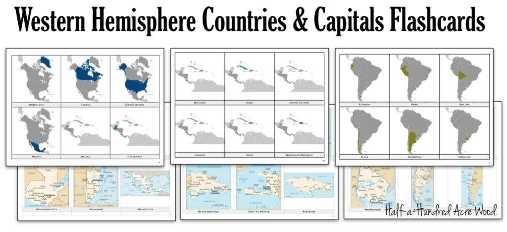 Western-Hemisphere-Countries-Capitals