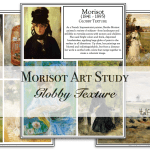 Morisot Art Project: Globby Textures