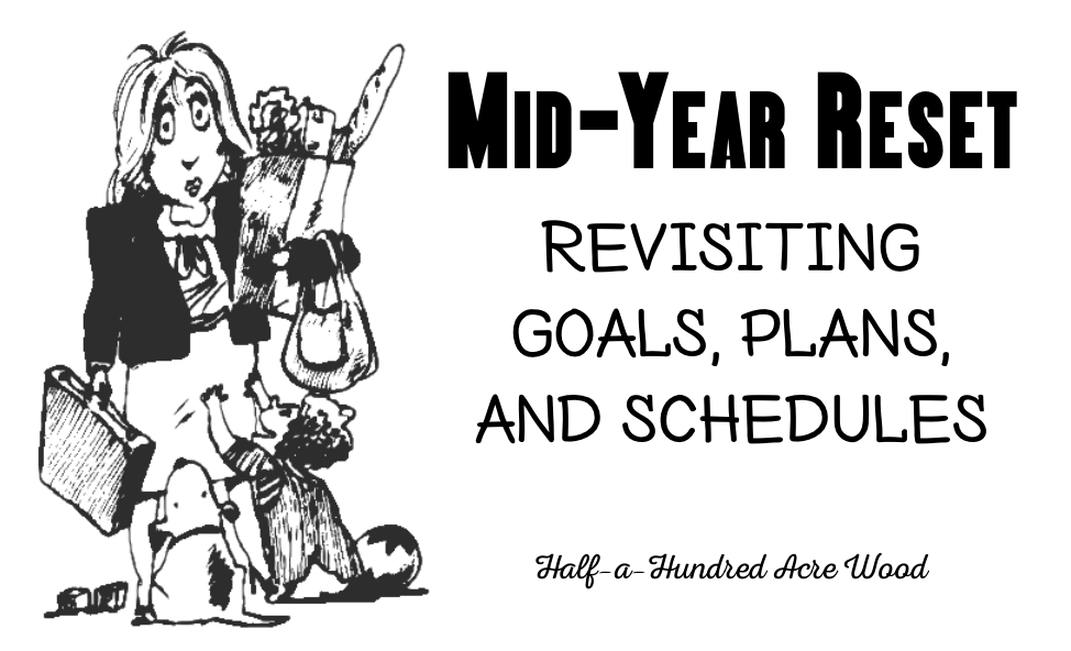 Say what?!? Revisiting goals, plans, and schedules