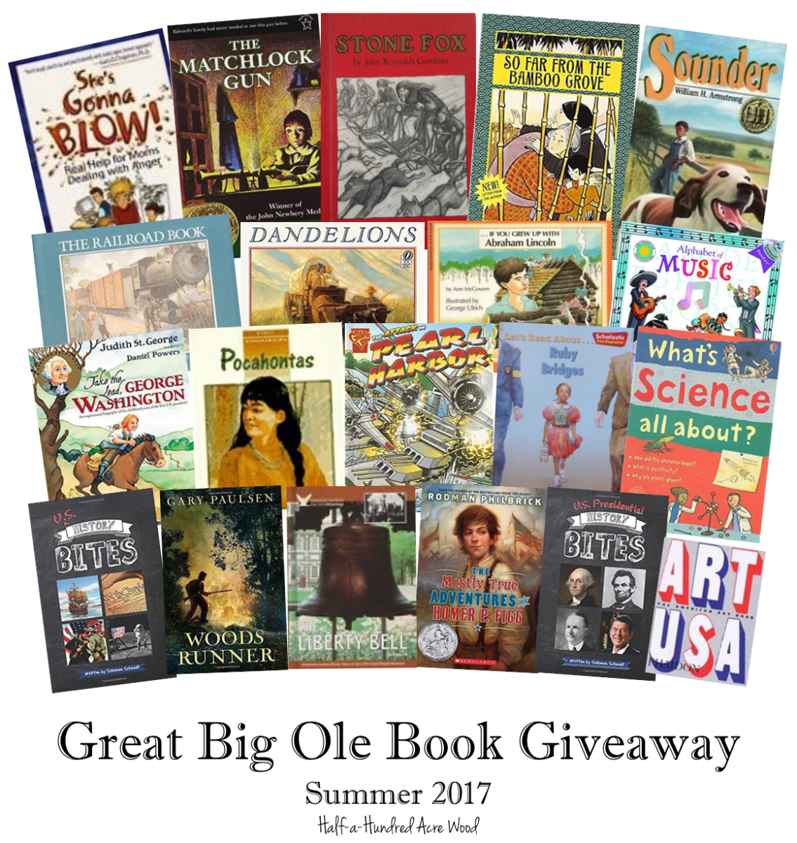Great Big Ole Book Giveaway {CC Cycle 3}