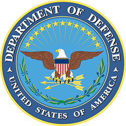 Department of Defense Logo, Featured Client 2 of 9