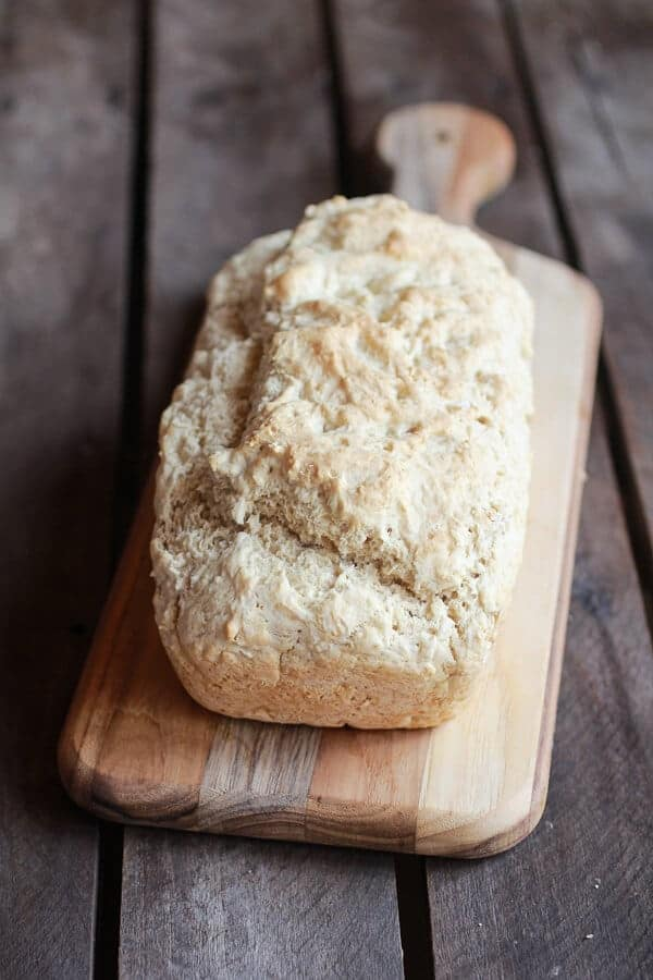 5 Ingredient Beer Bread | halfbakedharvest.com