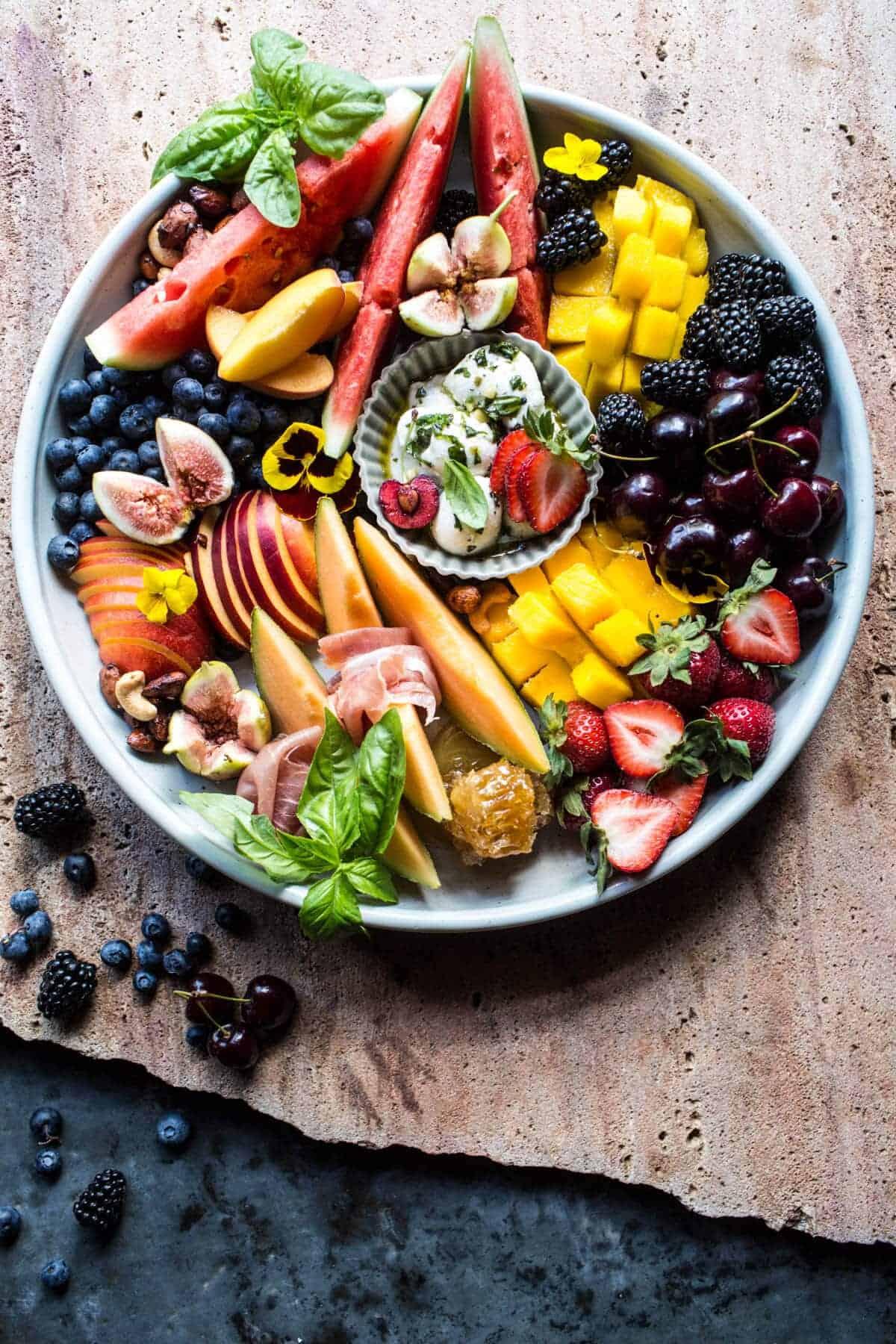 Summer Fruit Plate