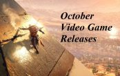 New Video Game Releases for October 2017