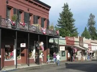 Downtown Nevada City