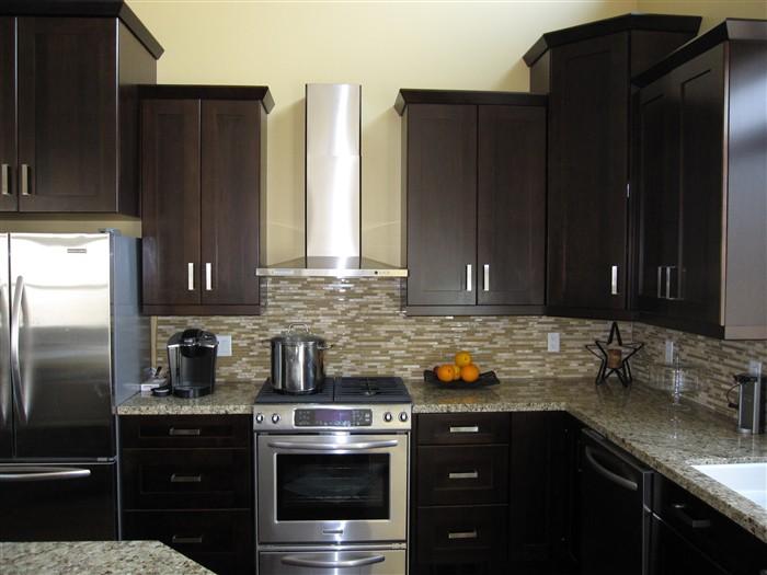 Modern Built Kitchen Cupboards