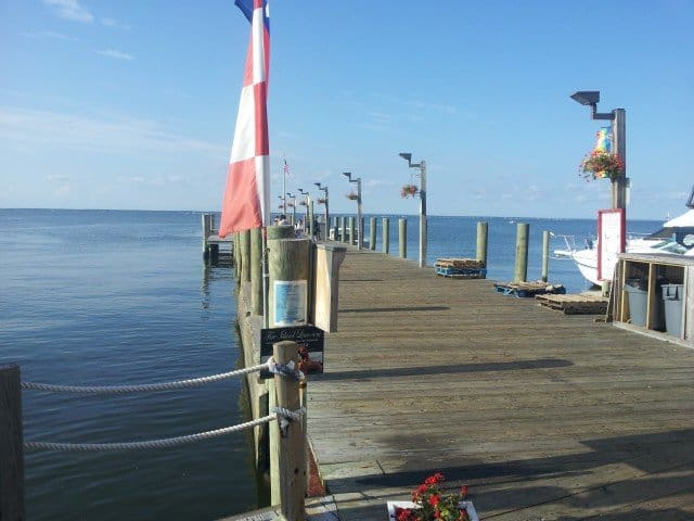Cherry Grove Ferry Dock