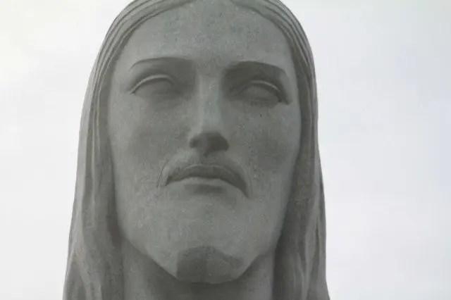 Cristo Redentor Face Closeup