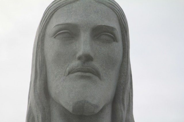 Cristo Redentor Face Closeup