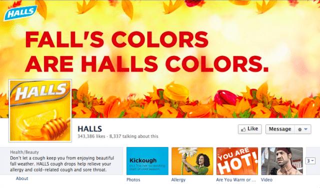 HALLS US Facebook Page