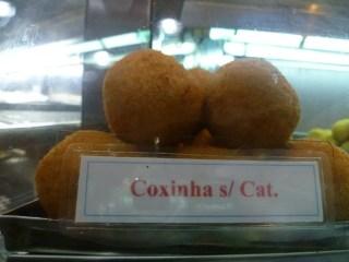 Coxinha sem Catupiry