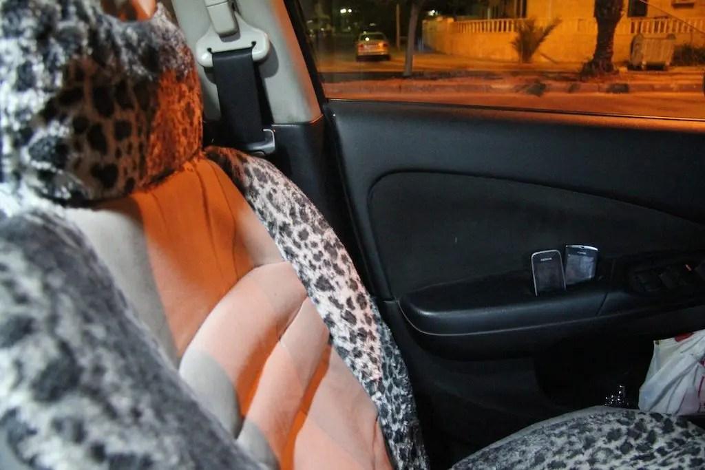 Jordan Taxi Seats