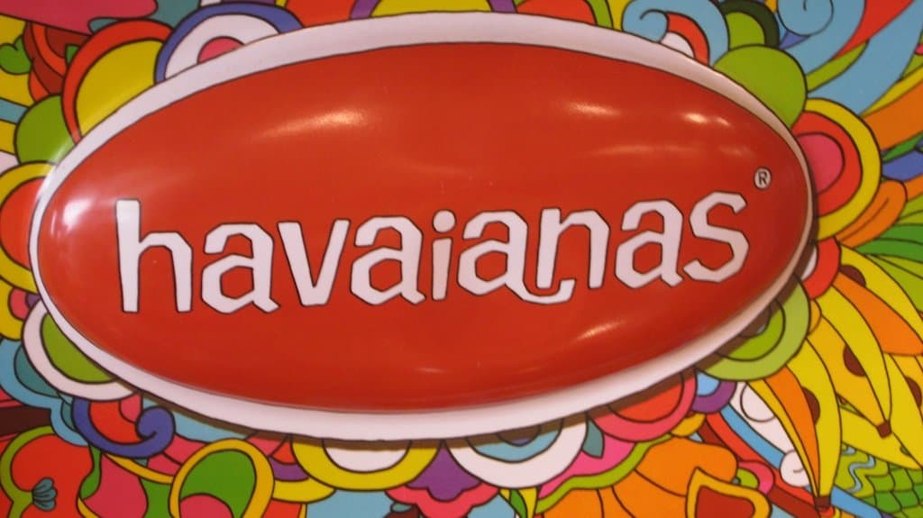 Havaianas Logo Sign