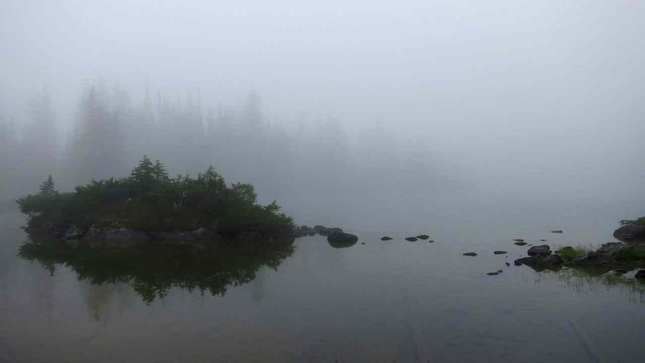 Foggy Deception Lake