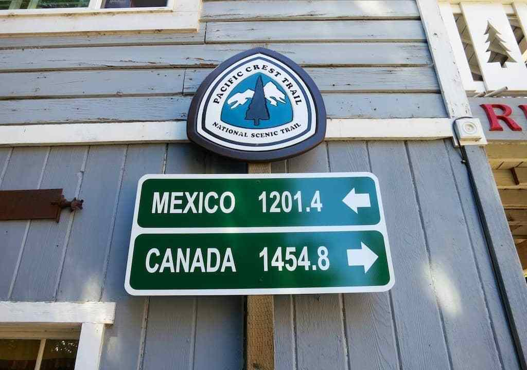 Red Moose PCT Sign