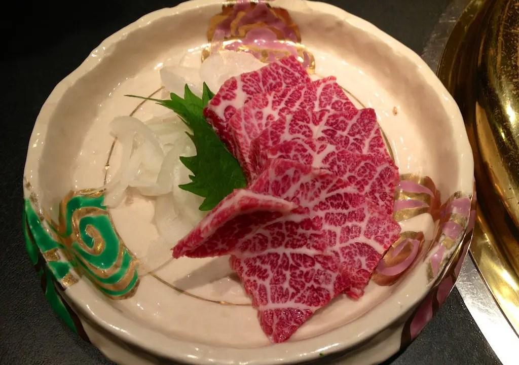 Basashi Plate