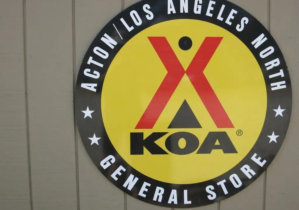 KOA Sign