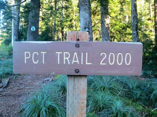 PCT Trail 2000 Sign 1