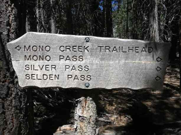 Silver Pass Sign
