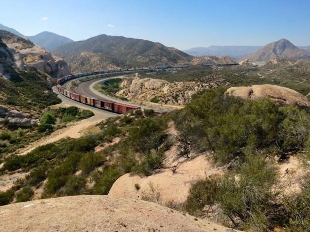 4 Desert Train View