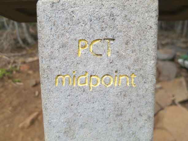 4 PCT Midpoint Sign