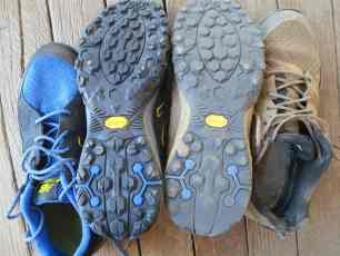 Choosing Footwear for a Long Distance Hike