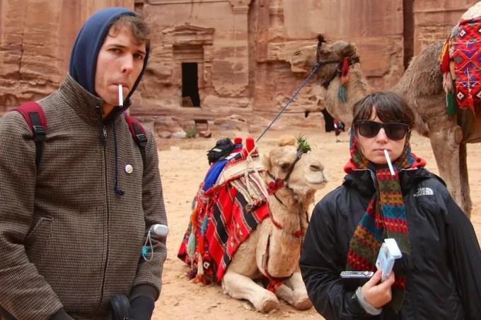 Camel Cigarettes Petra
