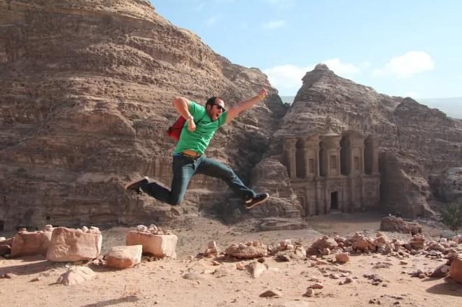Jumping Monastery Petra